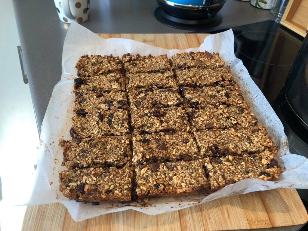 Yummy home made oat slice